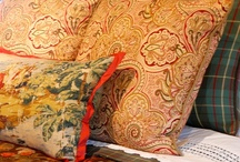 Pillow Talk / Pillows are an easy way to add charm and color to any room.