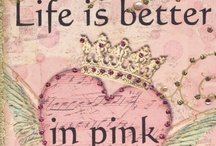 """ In The Pink "" / Dedicated To My Sister Eileen ....... A 5 year Cancer Survivor."