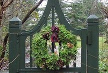 """ Put A Wreath On It "" / A simple and beautiful way to add beauty to any space inside or outside our homes."