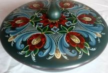 Rosemaling, Swedish, and other Folk Painting Styles / by Mary Judy