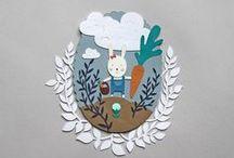My illustrations / My works as children illustrator