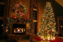 The Christmas Tree ! / The size of the Tree and the way it is decorated sets the Theme for the rest of the room.........