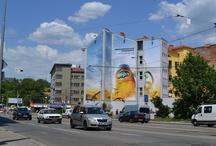 Outdoor Advertising - venkovní reklama / Outdoot Advertising in Brno, Czech Republic. Naše venkovní reklama v Brně.