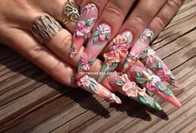 Nails and Nail Art / Nail Art made by me...or the name of the other artist is in the picture.