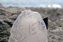 Sea glass/ beach