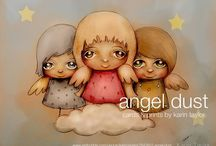 Christmas and Angel Art / Christmas and Angel art prints and cards by Karin Taylor