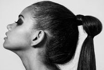 Couture Ponytails / Pretty and intricate ponytails
