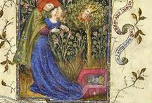 The Aesthetic Alphabet: Illuminated Manuscripts & Parchment Tomes
