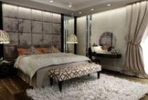 Strieborná spálňa - Silver bedroom