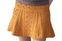 2B - knit skirts / knit skirts