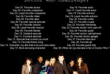 Doctor Who Challenge / February 25th 2015 - March 27th 2015