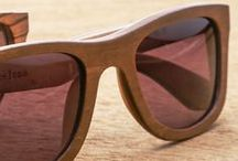 Wooden Sunglasses / Trendy sunglasses made of wood. Great design, unique material. If you think wood just as a natural element you've never worn these glasses. Wood is not only a trend but it is style and fashion.