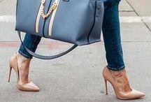 Handbags & high heels