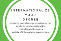 Internationalize Your Degree / Emmerse yourself in a new culture and spend a year or semester studying at one of our partner schools. Take your teaching skills abroad and hone them in an international context by participating in the International BEd Pracitca. Give back globally by volunteering with one of our partner organizations. Gain invaluable international work experience through internship opportunities. Research and study in a culturally different context with our study tours and research opportunities.