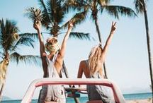 Summer Vibes / Go on holiday wherever and whenever! A collection of pics reminding summer and beaches are out there somewhere. Destinations, essentials and inspiration thought to cheer you up throughout the whole year and help you plan your next trip.
