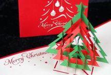 POP UP Karten Weihnachten / Filigrane Papierkunst zu Weihnachten  #popupkarte #colognecards #weihnachtskarte  #3DKarte #popupkarten