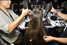 Kérastase PARIS at Givenchy SS16 / Luigi Murenu used Kérastase PARIS to create the runway looks for Givenchy's SS16 NYFW show. Look through this board for an exclusive backstage look and to see the final runway looks. #Kerastase #KerastaseCanada #Luxury #HairCare #Hair #HairStyle #CoutureStyling #NYFW #SS16