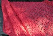 6B - accessories: knit and crochet shawls with charts / knit and crochet shawls with charts