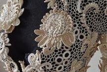 Вяжем цветы, кружева, ирландское вязание , фриформ, мотивы / Идеи, модели, схемы / by Lana Vanina