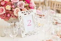 Wedding - Table Numbers & Placecards Inspiration
