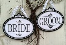 Wedding - Signs & Tags
