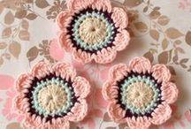 crochet flowers / by Sandie Major
