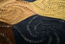 Blankets - crochet hexagons