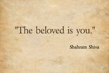 Shahram Shiva Quotes on Parchment / Quotes by Shahram Shiva on classic parchment.
