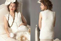 Вяжем крючком жилеты, блузы, топы, болеро, жакеты / Идеи для вязания и модели / by Lana Vanina