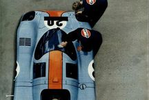 Gulf Car racing colors