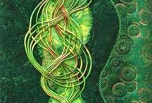 Арт-текстиль / Работы из интернета - вышивка, войлок, гобелен, батик и пр. - все, что связано с текстилем