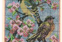 Схемы для вышивки, филейного вязания, жаккарда, тунисского . / В копилку идей / by Lana Vanina