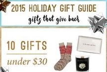 Holiday Gift Guides / Find something special for everyone on your list. #shopwithacause #productswithpurpose #giftguides #ethicalfashion #ethicalgifts