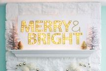 Happy Holidays! / Festive #DIY, #recipes, #partyideas and #partyoutfits!