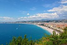 Travel / Cannes, Nice, Monte Carlo, Villefranche sur Mer...beautiful France. Life's a trip…so get out there and enjoy this bright, beautiful planet!