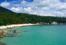 Koh Phangan / Haad Yuan Beach - prettiest little spot in Thailand.
