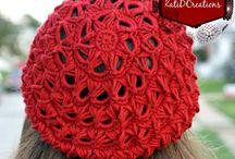 Crochet scarfs&hats