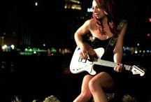 Girls n Guitars / Women who rock their guitars / by Kevin DuPre
