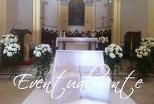 Ceremony decor / Decorazioni cerimonie civili e religiose