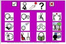 Tableros Comunicación 12 casillas / http://informaticaparaeducacionespecial.blogspot.com.es/p/tableros-de-comunicacion.html