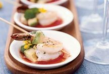 Buffet - Comidinhas de festa - Party food / Hors d'oeuvre & Tapas / by Wagner Alvim