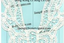 "New Hand Crochet Applique / We are Lace Trims Wholesale Supplier and Manufacturer  for all Apparel Manufacturer, Fashion Designer, Sourcing Officer, Merchandiser, More Lace E-Catalogue, http://laceandtrims.weenly.com E-Mail:liseng@biznetvigator.com ""Hong Kong Li Seng Co Ltd"" Garment Accessories Supplier"