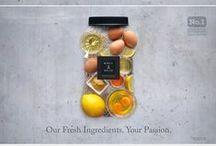 Advertising design / Creative advertising designs