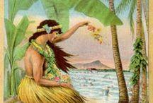 Vintage Posters - Hawaii