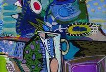 ART / картины. цвета. интересные идеи.
