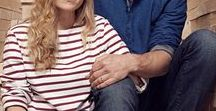 Unisex Collection / This season we introduce our Unisex range. With easy fit nautical classics and soft linen overshirts, these are clothes designed to be worn and loved by both men and women. Modelled on Danielle and Tom Raffield
