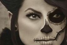 Halloween Make Up / A look at gorgeous make up perfect for the Halloween period. #Halloween #HalloweenMakeUp