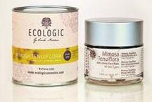 """Ecologic by Linda Nicolau / """"Cuidamos tu belleza, respetamos la naturaleza"""" Ecologic Cosmetics es una marca de cosmética ecológica elaborada en España. Todos sus productos están elaborados con ingredientes naturales.  Todos sus productos son elaborados con ingredientes 100% naturales y respetando siempre el entorno natural que los rodean. Los cosméticos de Ecologic proporcionan resultados visibles en el aspecto, en la elasticidad y salud de todo tipo de pieles."""