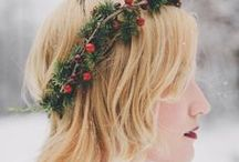 Chrismas Hair / A fab look at our wigs, hairpieces, hair extensions and accessories perfect for your special ones this Christmas or even just treat yourself.