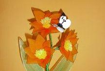 my nylon flowers